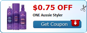 $0.75 off ONE Aussie Styler