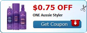 $0.75 off ONE Aussie Styler